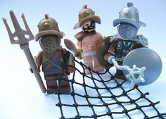 Lego MINIFIGURE Gladiators
