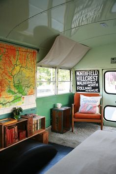 Antique School Bus for Holiday House