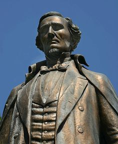 Montgomery -- Alabama Jefferson Davis (This statue stand on the grounds of the State Capitol....R)
