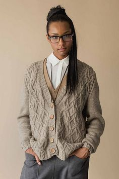 Ravelry: Frederick Cardigan pattern by Michele Wang