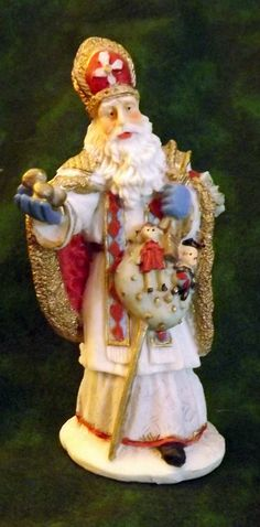 Yes, I do have some of the International Santas.  This is sc01 Sinter Klaas of the Netherlands