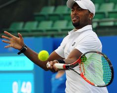 Donald Young (USA) First Round AEGON Open Nottingham Copyright B&O Press Photo
