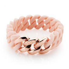 Lente roze/roze goud armband - The Rubz - Online bij JuwelierWebshop