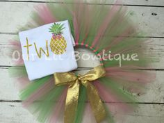 Two-tti Fruity Birthday Outfit twotti-fruitti by OurLilBowtique