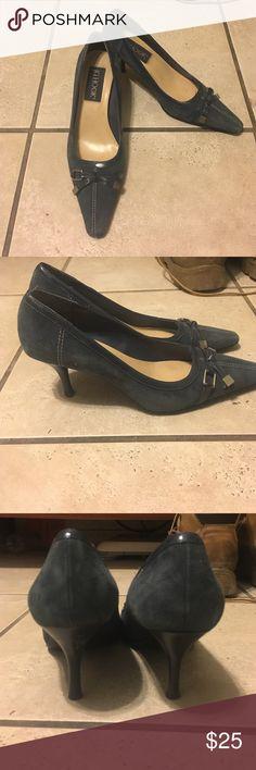 Very cute heels! J.G. Hook heels in a very pretty blue! JG Hook Shoes Heels
