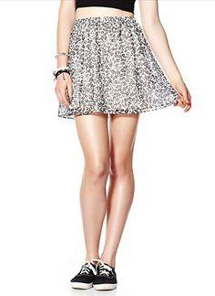 #shopgarageonline.com     #Skirt                    #Leopard #Chiffon #Skirt  Leopard Chiffon Skirt                               http://www.seapai.com/product.aspx?PID=123259