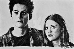 Stydia - Teen Wolf by cute06