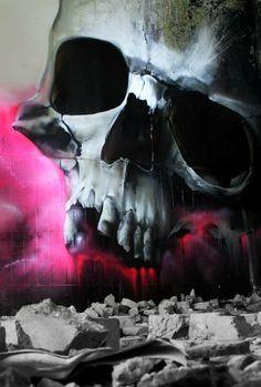 """Artist :Norm  """"Foggy Skull """""""