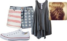 """""""forth of july"""" by alatexas on Polyvore"""
