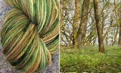 Hand Painted Wool Worsted weight 185 yds by WendysWonders127, $18.50