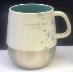 STARBUCKS 2007 Urban Holiday Mug, White Blue Snow flex, Stainless Steel Base  http://cgi.ebay.com/ws/eBayISAPI.dll?ViewItem&item=290979490005&ssPageName=STRK:MESE:IT