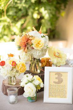 #centerpiece  Photography: Lori Paladino Photography - loriphoto.com Event Planning + Design: A Bride's Best Friend - a-brides-best-friend.com/ Floral Design: Amy Burke - amyburkedesigns.com/  Read More: http://stylemepretty.com/2013/05/14/saratoga-california-wedding-from-lori-paladino-photography/
