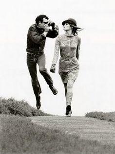 Woody Allen by Helmut Newton