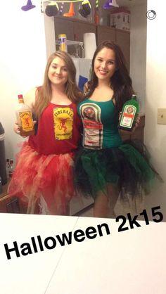 Halloween costume! Fireball and jäger