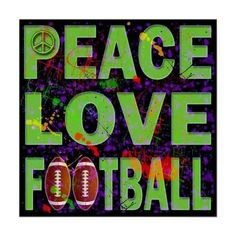It's time for peace, let's play Football