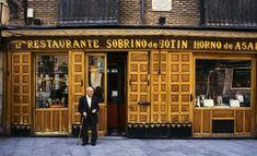 El restaurante más antiguo: Sobrinos de Botin Madrid
