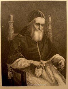 Papa Julio II, (grabado de 1840)