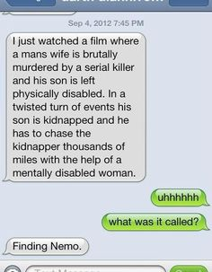 Description of Finding Nemo