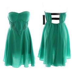 """NWT LA Class Dress Brand new, sexy Kelly green dress from LA Class. Size large. Chest is approx 34"""" unstretched. Length is approx 27"""". Fun & flirty for a night out! LA Class Dresses"""