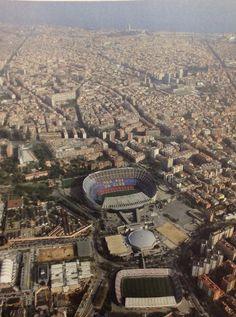 Que momentos más agradables pasé allí en una Semifinal de la UEFA... les presento el Camp Nou Fútbol Club Barcelona