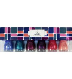 Bonita Nail Polish Collection Color Mode 6 Piece - Handbags, Bling & More!