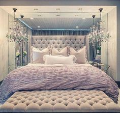 Image via We Heart It https://weheartit.com/entry/158962499/via/4323422 #bed #bedroom #decor #house #interiordesign #luxury #rich