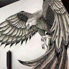 Phoenix in motion #art #artwork #artist #drawing #masterpiece #creation #pen #penart #doodle #doodling #zentangle #ink #instaart #instaartist #instaartwork #phoenix #phoenixtattoo #tattoo #tattooart #tattoos #tattoodesign #drawingoftheday #artpalooza #arts_secret #repost