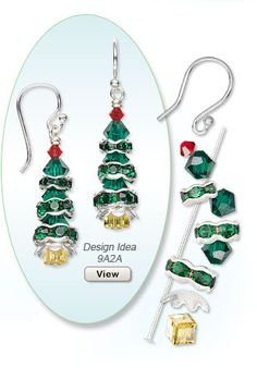 Christmas Earring Design Idea 9A2A
