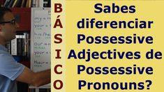 Ingles en español 9   Possessive Adjectives