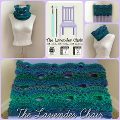 Virus Cowl Crochet Pattern by The Lavender Chair