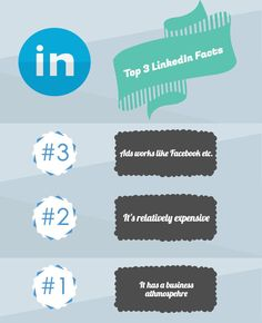 LinkedIn for business , Top 3 Facts