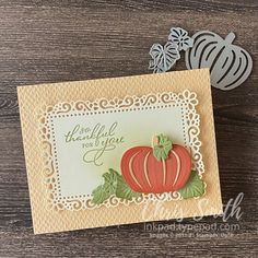 Fall Cards, Holiday Cards, Pumpkin Cards, Paper Pumpkin, Halloween Cards, Fall Halloween, Stampin Up Cards, Pumpkins, Thanksgiving Cards