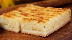 Cheesepie (without phyllo) Cheese Pies, Pastry Cake, Mediterranean Recipes, Greek Recipes, Tray Bakes, Easy Meals, Bread, Snacks, Baking
