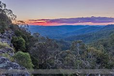 Sunset Over New England Tablelands England Australia, Weather Cloud, Guy Fawkes, Dynamic Range, Dark Forest, South Wales, Capital City, Forests, Hdr