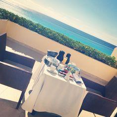 Live Aqua Cancun, Mexico  Breakfast on the Balcony #paradise