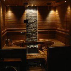 Sauna Diy, Dry Sauna, Saunas, Design Sauna, Basement Sauna, Building A Wooden House, Piscina Spa, Garden Log Cabins, Industrial Style Bedroom
