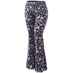 292c96f77529 MK Womens Plus Size Printed High Waist Wide Leg Palazzo Pants Made in.