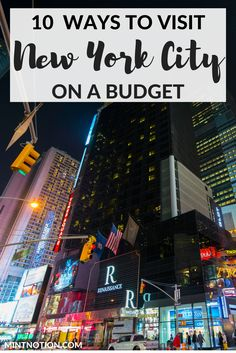 10 Ways To Visit Nyc On A Budget