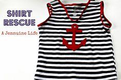 A Jennuine Life: Shirt Rescue