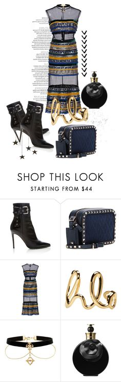 """""""This Saturday Night"""" by sofia-ios ❤ liked on Polyvore featuring Monse, Valentino, Costarellos and Chloé"""