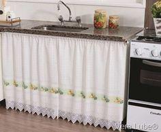 Blog Vera Lube®: Cortina na pia da cozinha