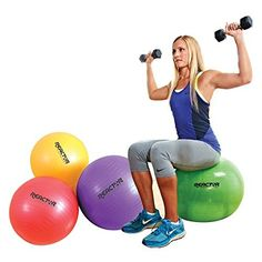 Champion Barbell Reactor Fitness Ball *** To view further for this item, visit the image link. (This is an affiliate link and I receive a commission for the sales) Best Ab Workout, Pilates Workout, Gym Workouts, Ball Workouts, Cardio, Black Tees, Senior Fitness, Kids Fitness, Lose 15 Pounds