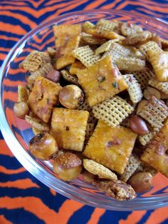 Cheesy Ranch Chex Mix - This sounded so good, but came out rather bland and salty - not buttermilk ranch tangy, the way I expected it to.