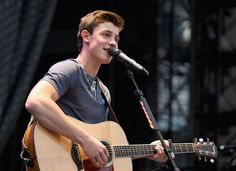 Shawn Mendes opens for Taylor Swift onstage during The 1989 World Tour on June 12, 2015 at Lincoln Financial Field in Philadelphia, Pennsylvania...