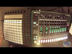 Playing the Roland AIRA TR-8 with Live and Push | Ableton