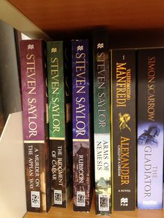 Steven Saylor: fictional mysteries in ancient Rome