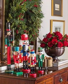 37 Best Decorating with Nutcrackers images | Nutcrackers, Christmas ...