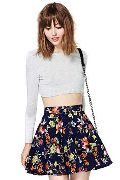 Osaka Skater Skirt in Clothes Bottoms at Nasty Gal Skirt Outfits, Dress Skirt, Cute Outfits, Cute Skirts, A Line Skirts, Short Skirts, Teen Fashion, Fashion Beauty, Fashion Outfits