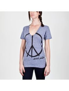 This T-shirt is to help children in Africa that are abuducted from their families and forced to kill innocent people. Please go on this website, www.InvisibleChildren.com. watch the movie and see how you can help these children.