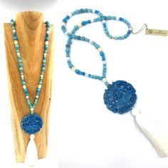 #necklace #stones #cristal #gemme #jade - La collection Jade est composée de pierres semi-précieuses Collection Jade :: creation-aum